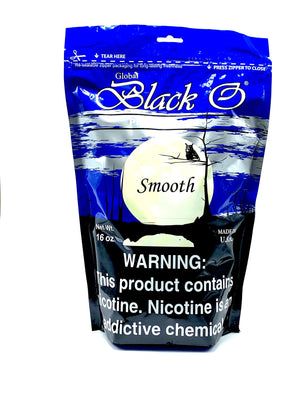 Black O Pipe Tobacco Smooth 16oz - Green Caviar Club