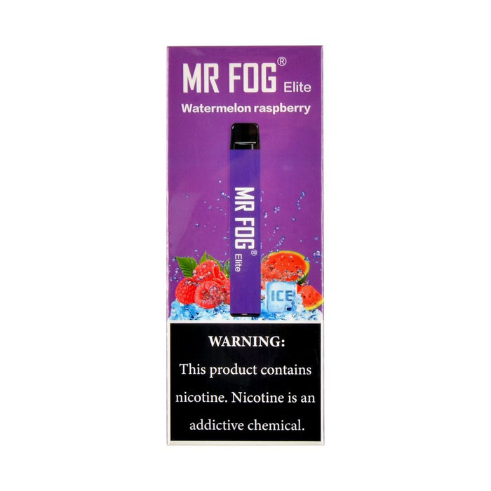 MR FOG ELITE DISPOSABLE VAPE PEN WATERMELON RASPBERRY
