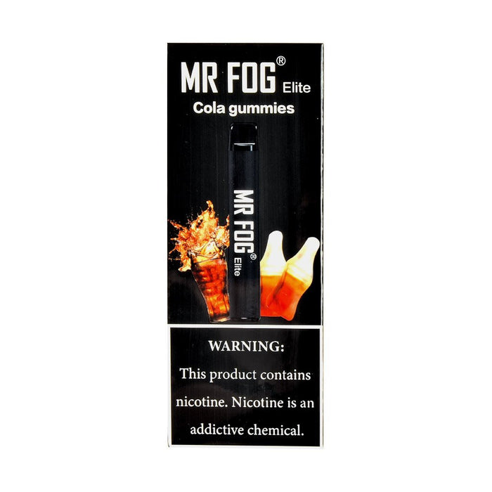MR FOG ELITE DISPOSABLE VAPE PEN COLA GUMMIES