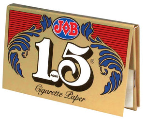 JOB ROLLING PAPERS 1.5 GUMMED 24 BOOKS OF 32 LEAVES