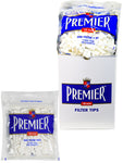 PREMIER FILTER TIPS REGULAR WHITE 200 TIPS PER BAG - Green Caviar Club