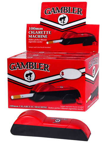 GAMBLER 100MM CIGARETTE INJECTOR MACHINE - Green Caviar Club