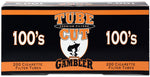 GAMBLER TUBE CUT CIGARETTE FILTER TUBES 5 CARTONS OF 200 - Green Caviar Club