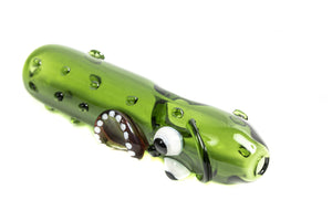 ANIMATED PICKLE STEAM ROLLER PIPE | 4 INCH
