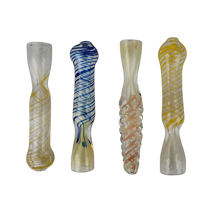 SPIRAL DESIGN INSIDE OUT CHILLUM PIPE | 3.25 INCH