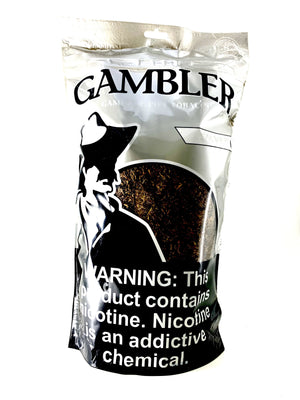 Gambler Pipe Tobacco Silver 16oz - Green Caviar Club