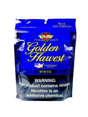 Golden Harvest Pipe Tobacco Mild Blend 6oz - Green Caviar Club