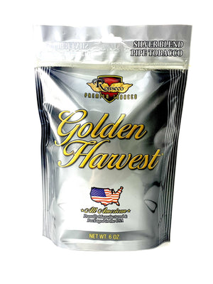 Golden Harvest Pipe Tobacco Silver Blend 6oz