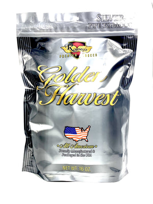 Golden Harvest Pipe Tobacco Silver Blend 16oz - Green Caviar Club