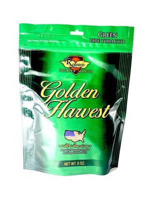 Golden Harvest Pipe Tobacco Mint Blend 6oz