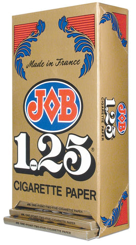 JOB ROLLING PAPERS 1.25 GUMMED 24 BOOKS OF 32 LEAVES - Green Caviar Club