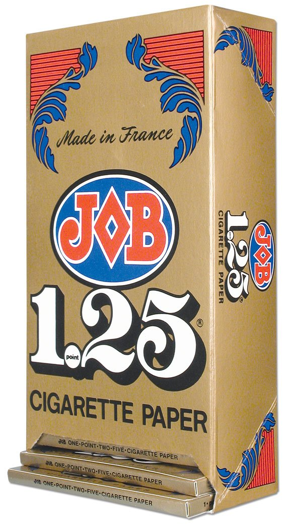 JOB ROLLING PAPERS 1.25 GUMMED 24 BOOKS OF 32 LEAVES