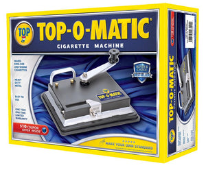 TOP-O-MATIC CIGARETTE ROLLING MACHINE MAKES 100'S AND KINGS
