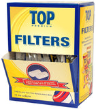 TOP PREMIUM FILTER TIPS 15MM - Green Caviar Club