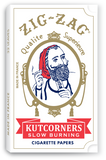 ZIG ZAG ROLLING PAPERS KUTCORNERS 24 PACK OF 32 LEAVES - Green Caviar Club