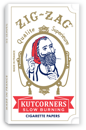 ZIG ZAG ROLLING PAPERS KUTCORNERS 24 PACK OF 32 LEAVES