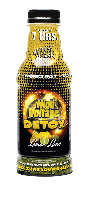 HIGH VOLTAGE DETOX 16OZ LEMON LIME