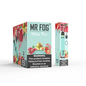 MR FOG MAX PRO DISPOSABLE VAPE PEN STRAWBERRY KIWI POMEGRANATE