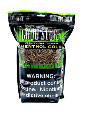 Good Stuff Pipe Tobacco Menthol Gold 16oz