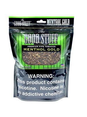 Good Stuff Pipe Tobacco Menthol Gold 6oz