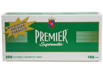 PREMIER CIGARETTE FILTER TUBES 5 CARTONS OF 200 - Green Caviar Club