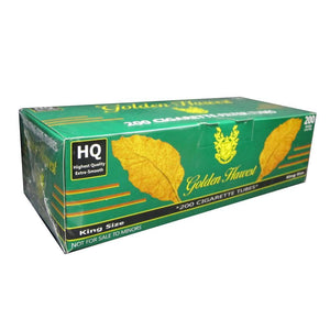 GOLDEN HARVEST CIGARETTE FILTER TUBES 5 CARTONS OF 200 MENTHOL KING SIZE - Green Caviar Club