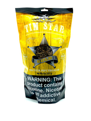 Tin Star Pipe Tobacco Gold 8oz - Green Caviar Club