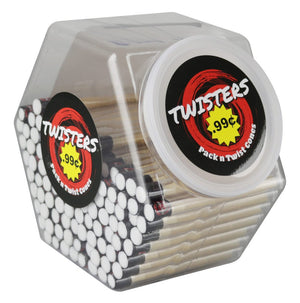 TWISTERS PREROLLED PACK N TWIST CONES 100PKS OF 2 CONES EACH $0.99 - SALE!