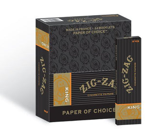 ZIG ZAG ROLLING PAPERS KING SIZE 24 BOOKS OF 32 LEAVES