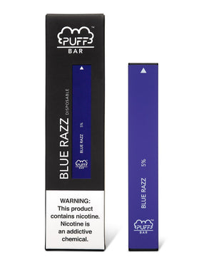 PUFF BAR DISPOSABLE DEVICE BLUE RAZZ - Green Caviar Club