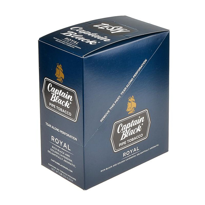 Captain Black Pipe Tobacco Royal 6 Pouches of 1.5oz
