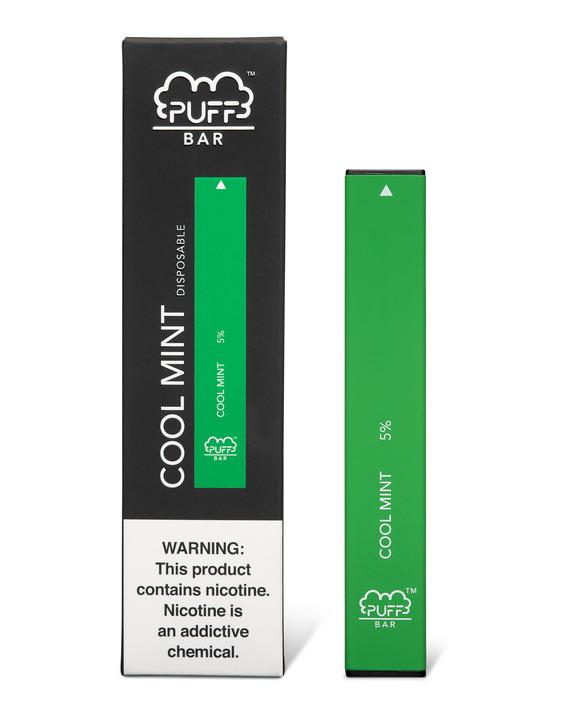 PUFF BAR DISPOSABLE DEVICE COOL MINT