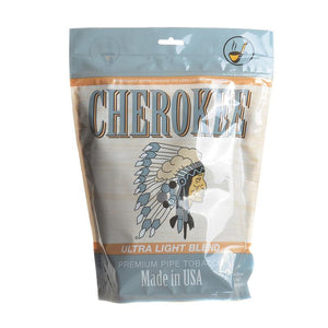 Cherokee Pipe Tobacco Ultra Light 16oz Bag