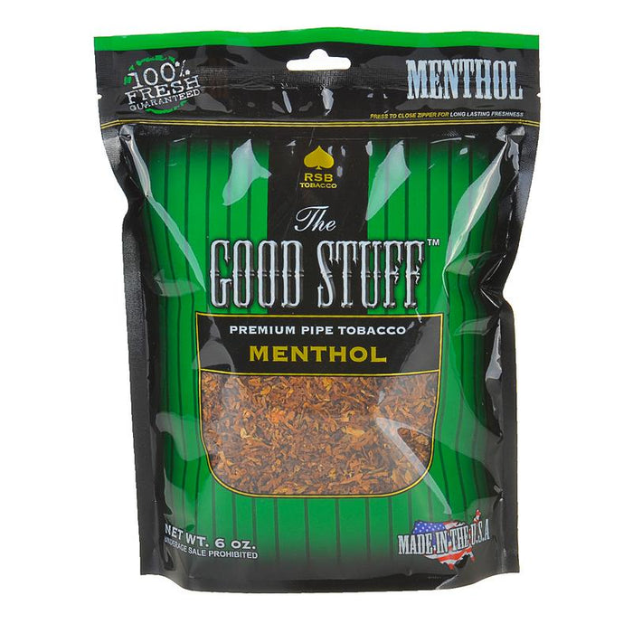 Good Stuff Pipe Tobacco Menthol 6oz