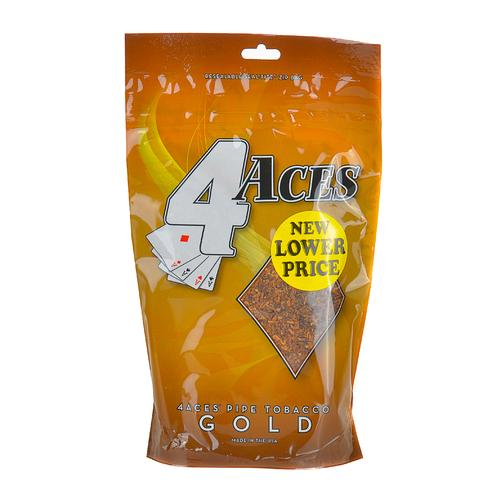 4 Aces Pipe Tobacco Mellow (Gold) 6oz