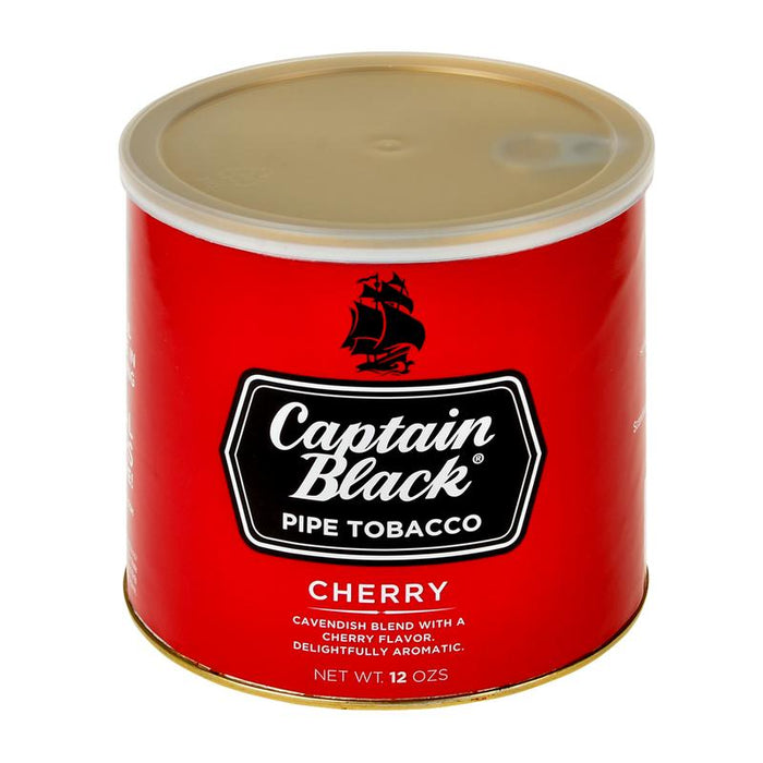 Captain Black Pipe Tobacco Cherry 12oz Can