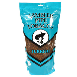 Gambler Pipe Tobacco Turkish 16oz - Green Caviar Club