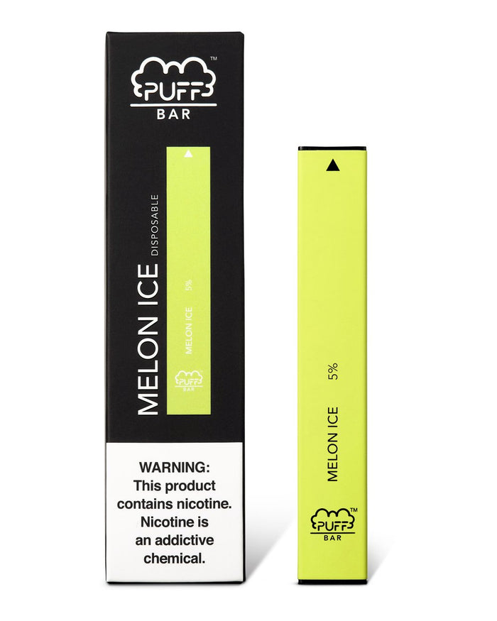 PUFF BAR DISPOSABLE DEVICE MELON ICE