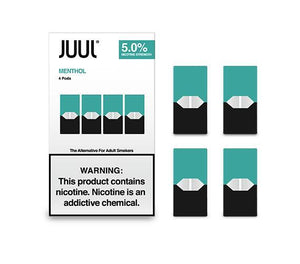 JUUL PODS 5% NICOTINE PACK OF 4 - CLASSIC MENTHOL - Green Caviar Club