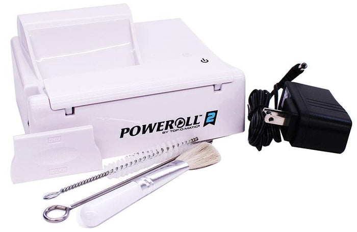 POWEROLL 2 ELECTRIC CIGARETTE MACHINE KING SIZE & 100MM