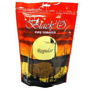 Black O Pipe Tobacco Regular 6oz
