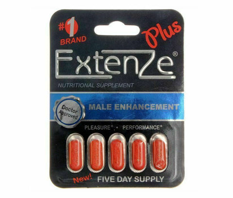 Extenze Plus - SALE! - Green Caviar Club