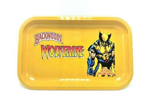 Wolverine x Backwoods Metal Rolling Tray - Green Caviar Club