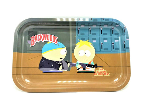 South Park x Backwoods Metal Rolling Tray - Green Caviar Club