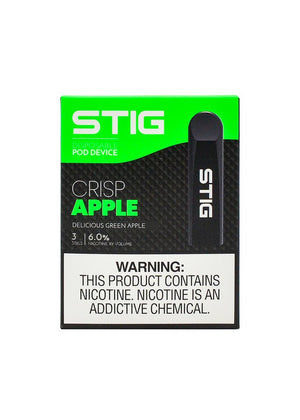 VGOD STIG DISPOSABLE VAPE DEVICE CRISP APPLE