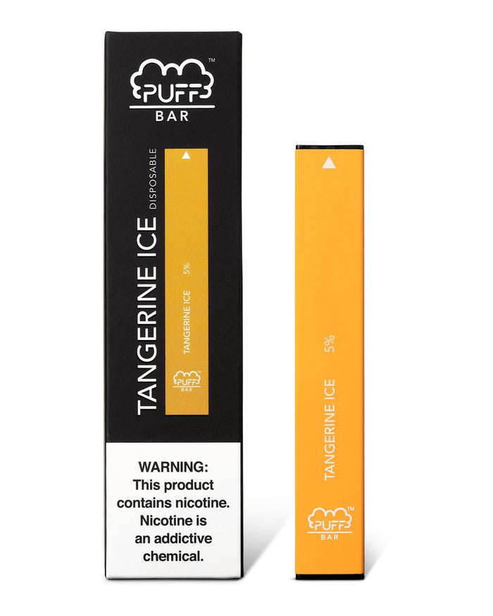 PUFF BAR DISPOSABLE DEVICE TANGERINE ICE