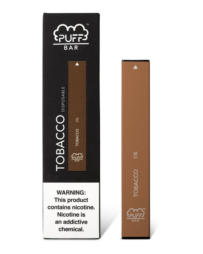 PUFF BAR DISPOSABLE DEVICE TOBACCO