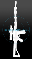 3 gun AR - MLF02 Decal Sticker