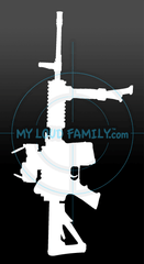 AAR - Ares Automatic Rifle Decal Sticker