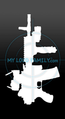 AAR/C - Ares Automatic Rifle Compact Decal Sticker